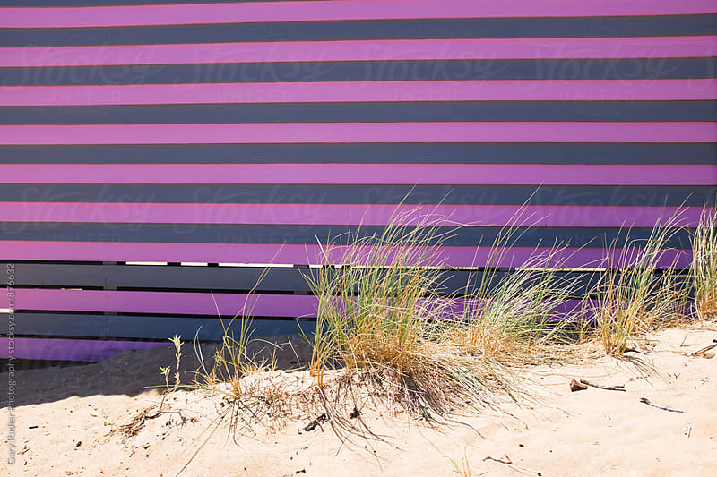 Exterior of a Beach House in Brighton, Australia 1 by Gary Radler Photography for Stocksy United
