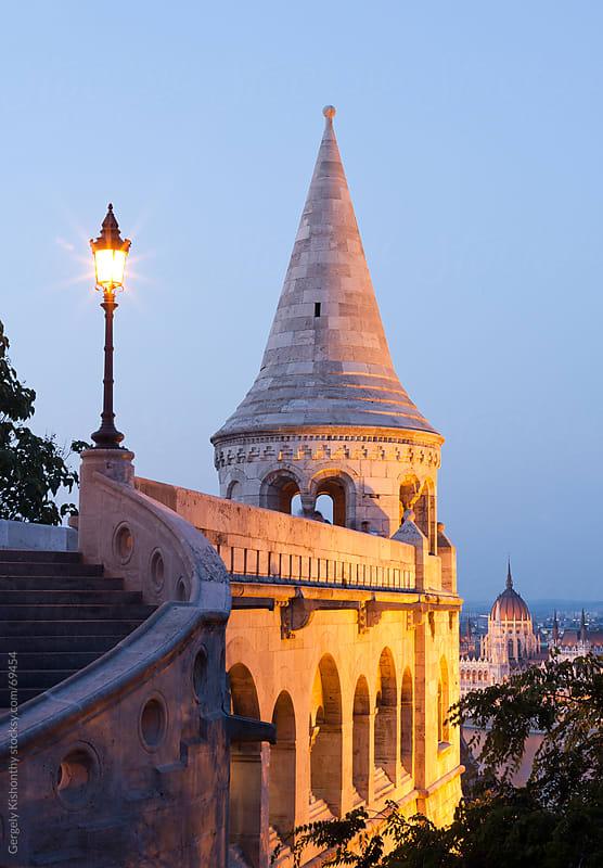 Neo gothic landmark. by Gergely Kishonthy for Stocksy United