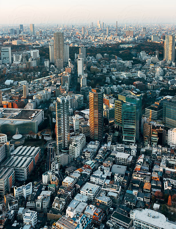 Japan - Tokyo Cityscape by Julien L. Balmer for Stocksy United