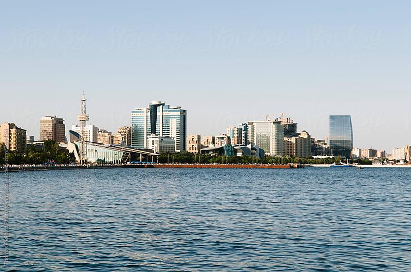 Baku skyline, Azerbaijan. by Thomas Pickard for Stocksy United