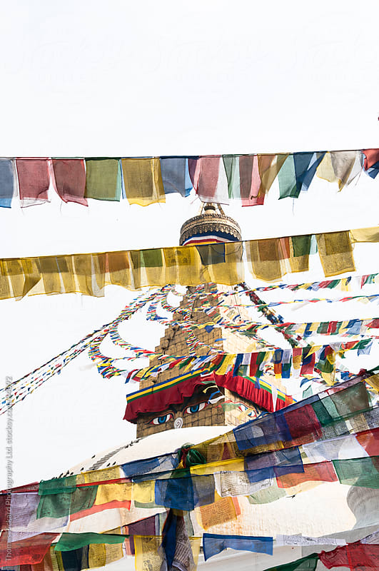 Bodhnath Stupa, Kathmandu, Nepal. by Thomas Pickard Photography Ltd. for Stocksy United