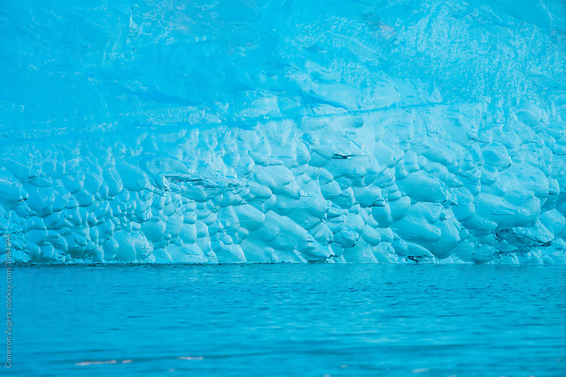 blue glacier ice by Cameron Zegers for Stocksy United