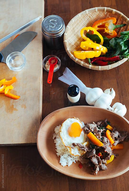Thai food by jira Saki for Stocksy United