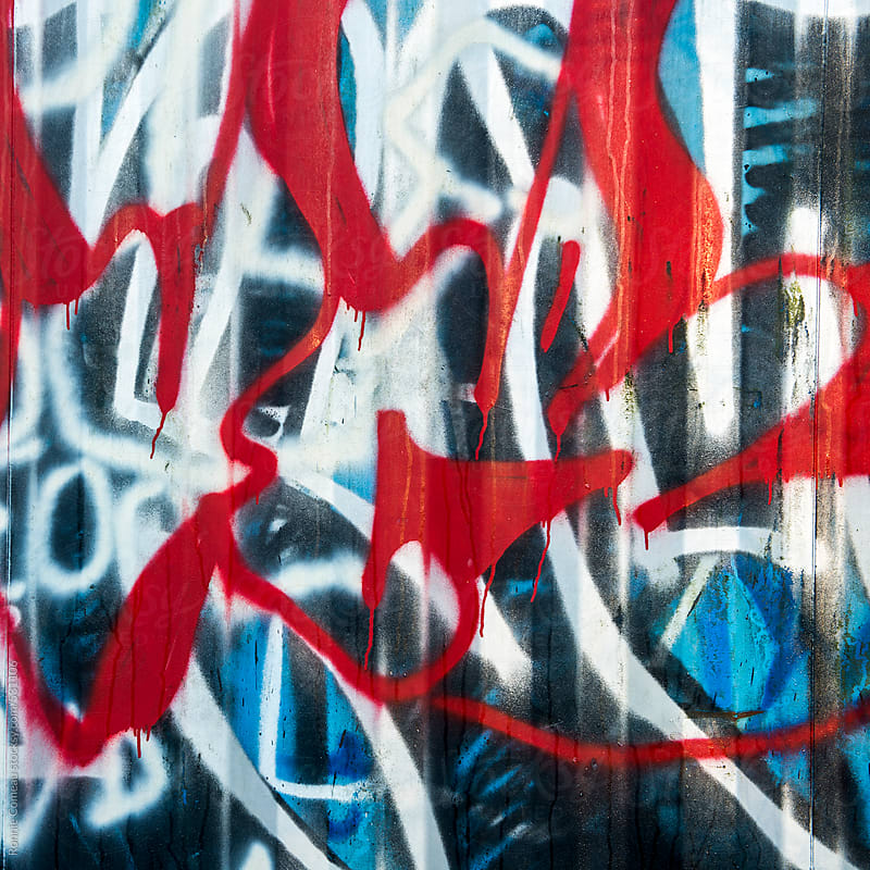 Graffiti Abstract by Ronnie Comeau for Stocksy United