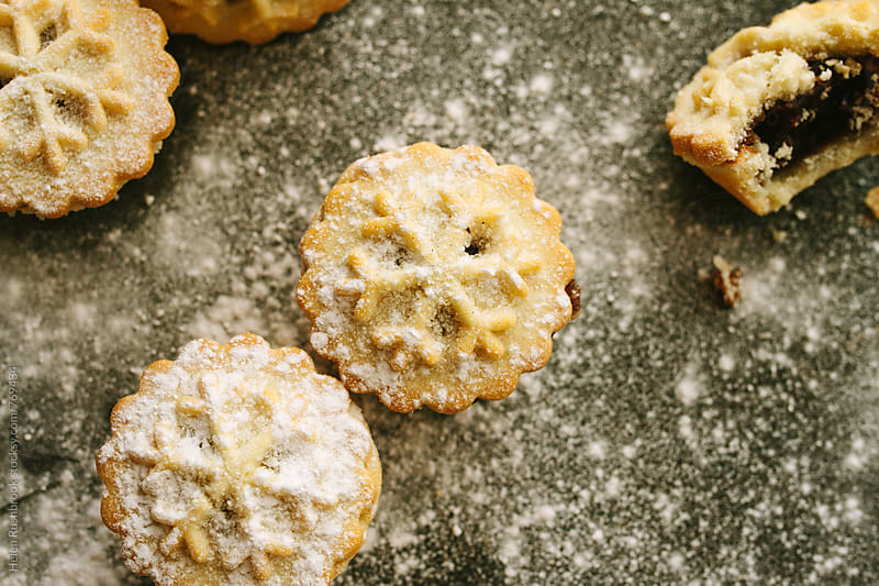 Mince pies by Helen Rushbrook for Stocksy United