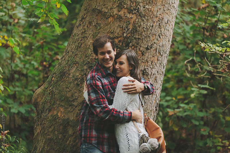 Young Couple in Nature by HEX. for Stocksy United