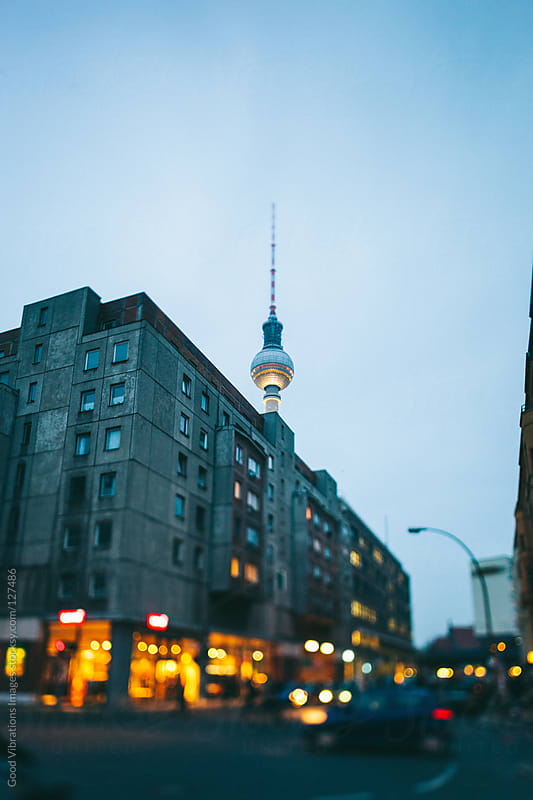 Berlin by Night by Good Vibrations Images for Stocksy United