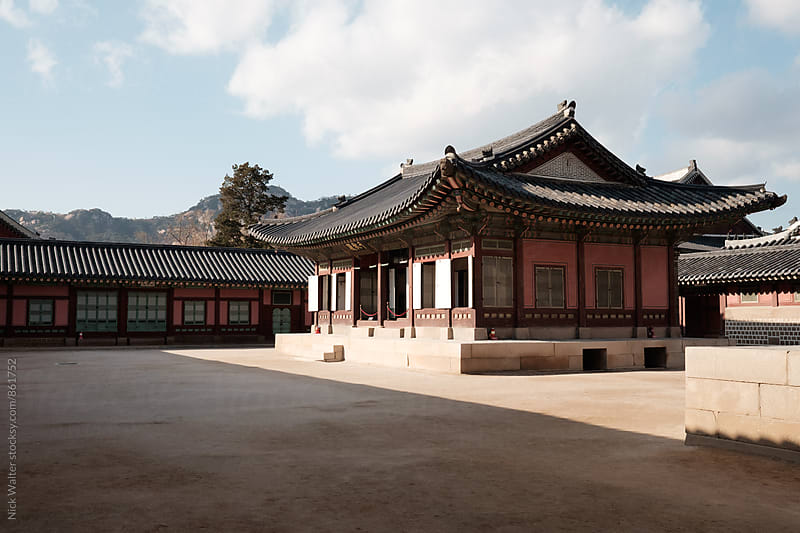 Gwanghwamun Palace by Nick Walter for Stocksy United