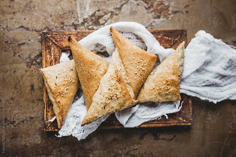 Mangold pie by Tatjana Zlatkovic for Stocksy United