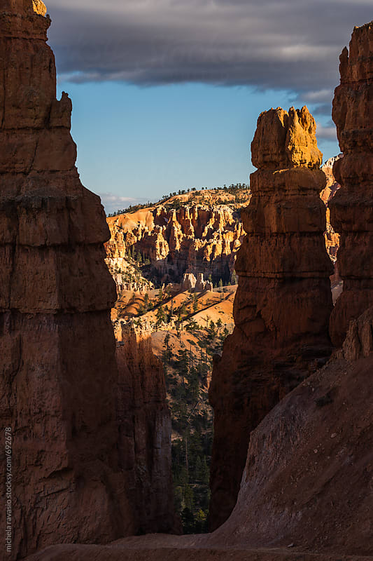 Path through the pinnacles of Bryce Canyon by michela ravasio for Stocksy United