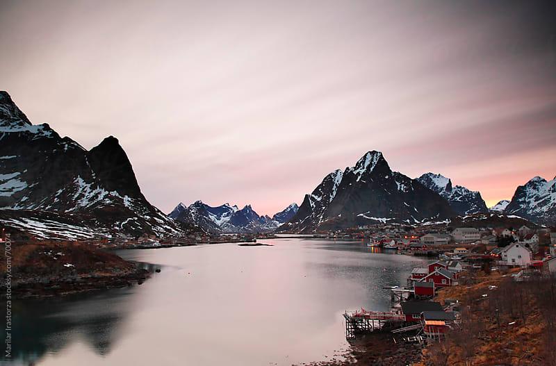Reine Harbour by Marilar Irastorza for Stocksy United