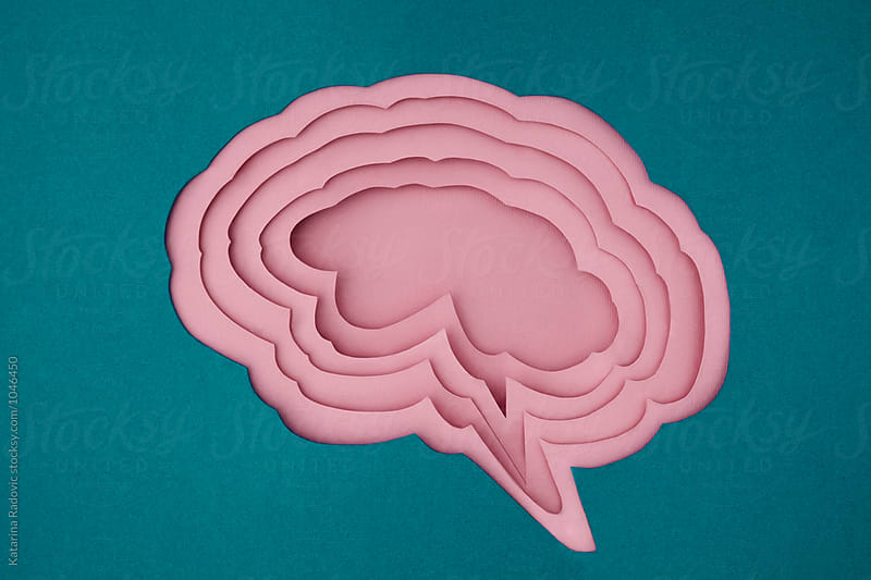 Paper Brain  by Katarina Radovic for Stocksy United