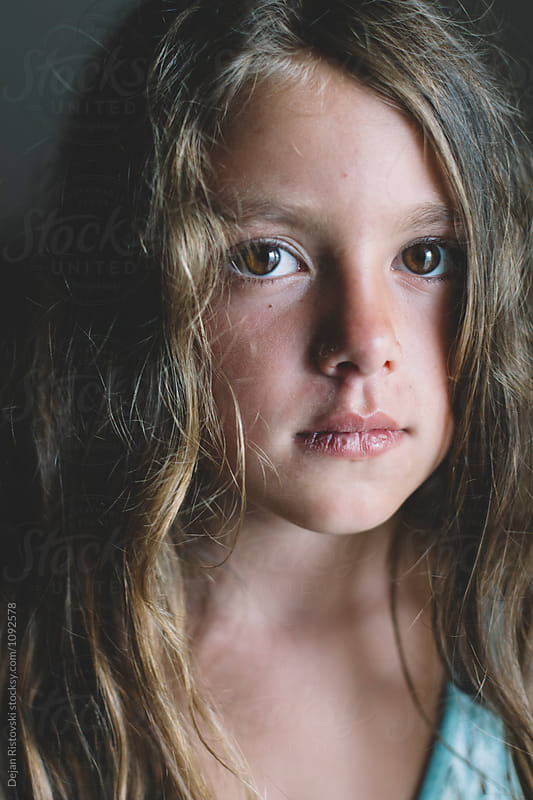 Portrait of a little girl. by Dejan Ristovski for Stocksy United