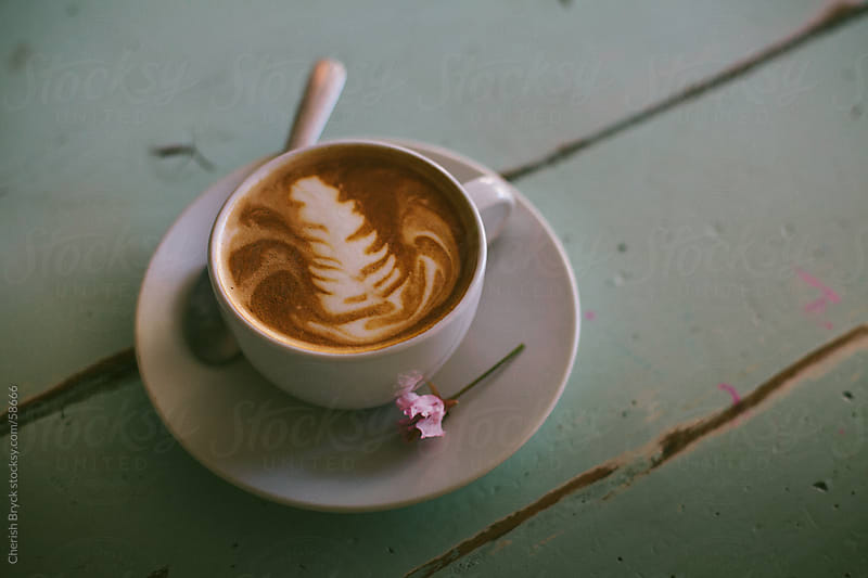 Latte time. by Cherish Bryck for Stocksy United