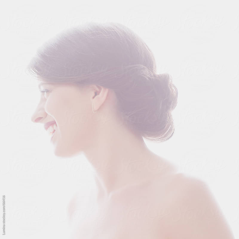 Beautiful Smiling Caucasian Woman by Lumina for Stocksy United