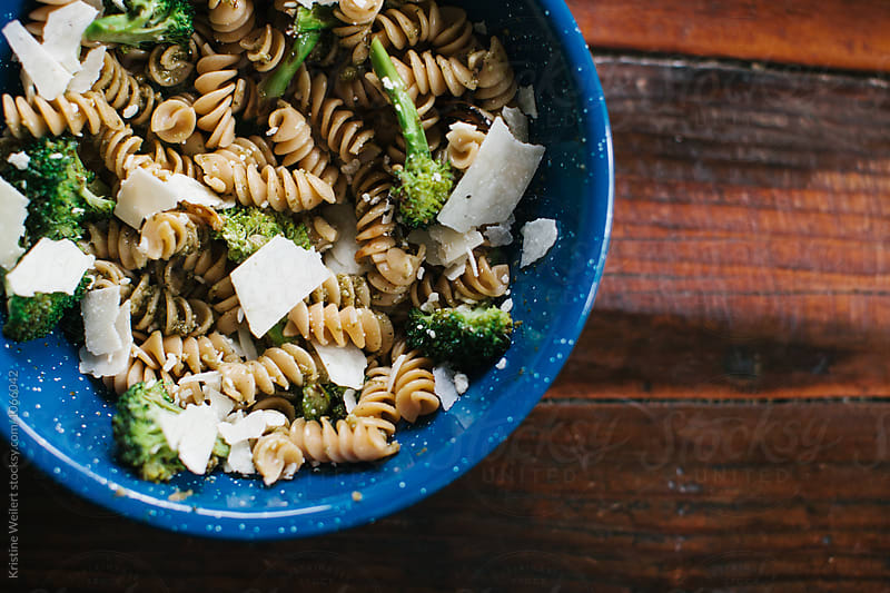 Healthy Pesto Noodle Dish by We Are SISU for Stocksy United