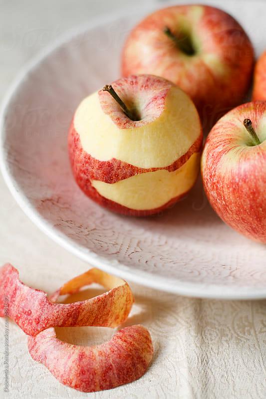 Fresh apple  by Dobránska Renáta for Stocksy United