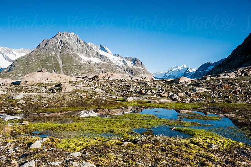 Panorama from Maerjelensee by Peter Wey for Stocksy United