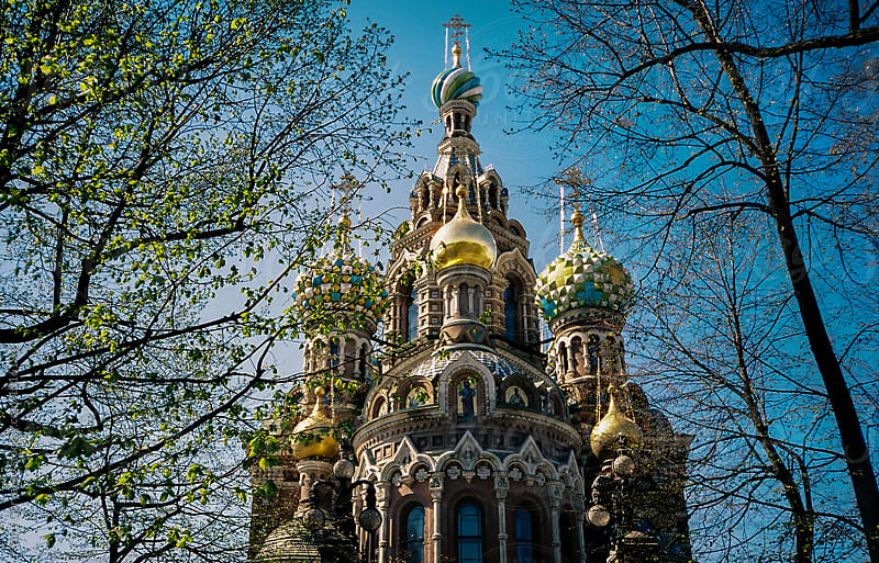 Church of the Savior on Blood.  by Yury Goryanoy for Stocksy United