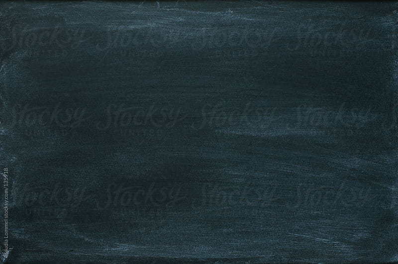 Black Empty Chalkboard Background by Claudia Lommel for Stocksy United