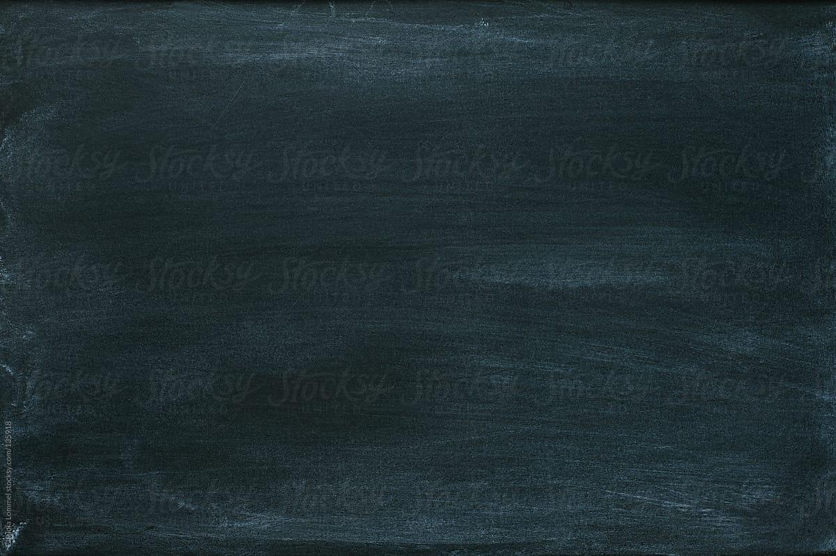 black empty chalkboard background by claudia lommel
