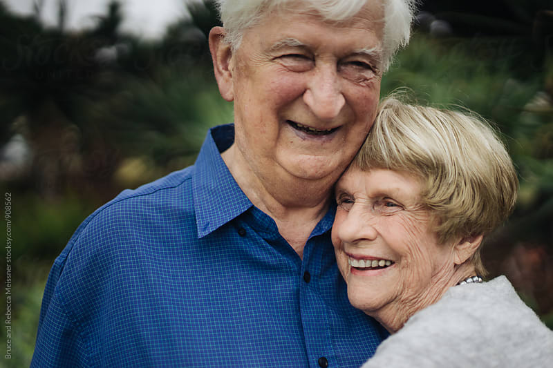 Old Couple in Love by Bruce and Rebecca Meissner for Stocksy United