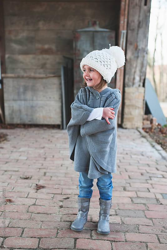 Cute girl by Melanie DeFazio for Stocksy United