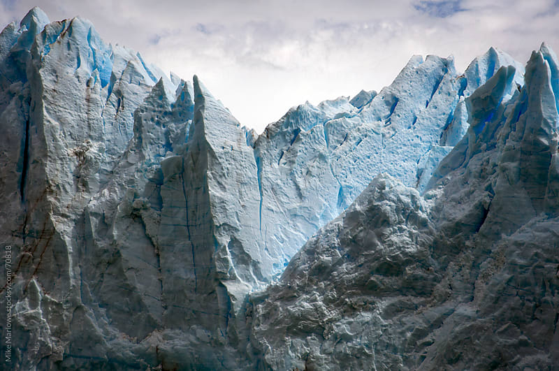 Perito Moreno glacier in Patagonia. by Mike Marlowe for Stocksy United
