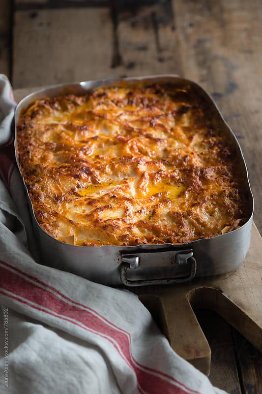 Lasagna alla bolognese by Laura Adani for Stocksy United