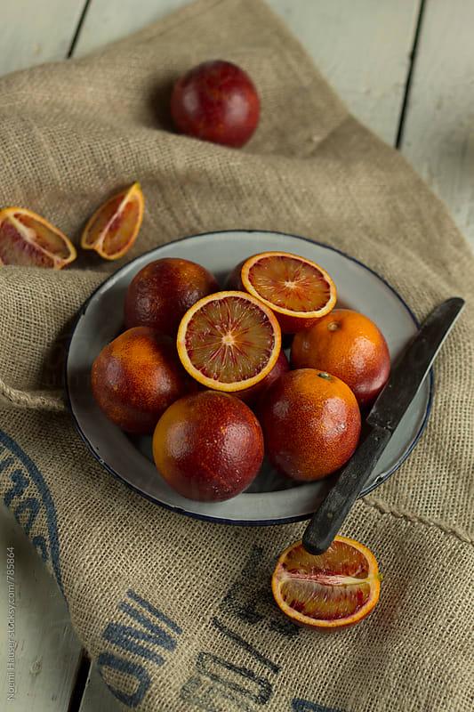 Blood oranges by Noemi Hauser for Stocksy United