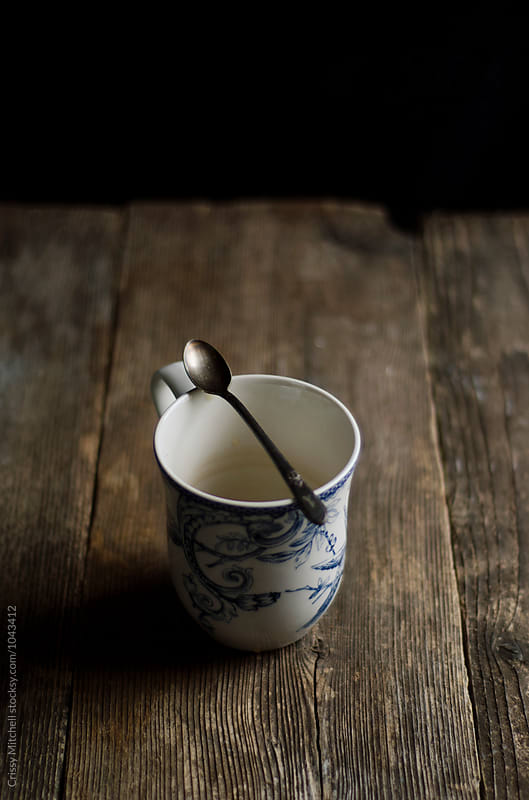 empty mug by Crissy Mitchell for Stocksy United