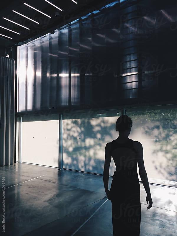 Silhouette of a woman by Liubov Burakova for Stocksy United