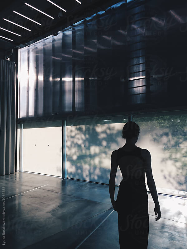 Silhouette of a woman by Lyuba Burakova for Stocksy United