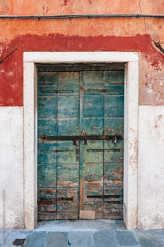 Door in Venice, Italy by Jen Grantham for Stocksy United