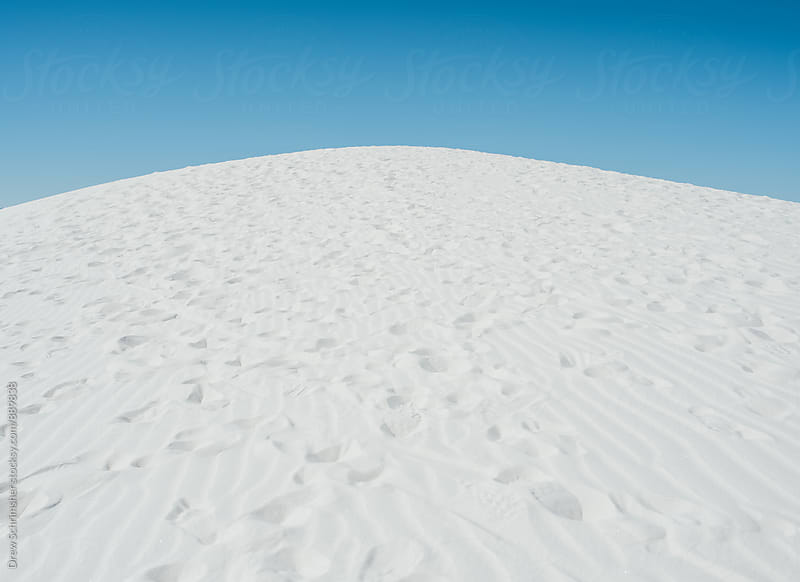 White sand dune  by Drew Schrimsher for Stocksy United