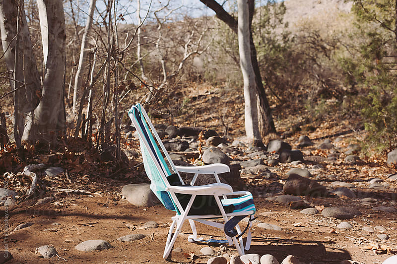 Camp Chair by Caleb Thal for Stocksy United