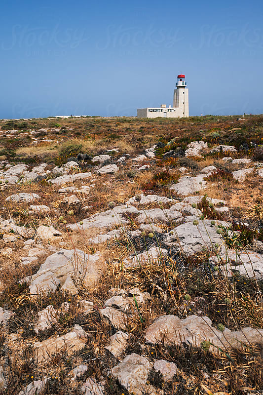Lateral Sagres Lighthouse by ACALU Studio for Stocksy United