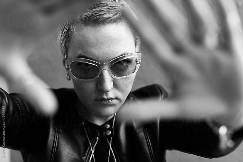 cool butch by Vesna for Stocksy United