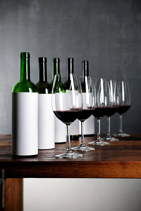 Blind red wine tasting by Ina Peters for Stocksy United