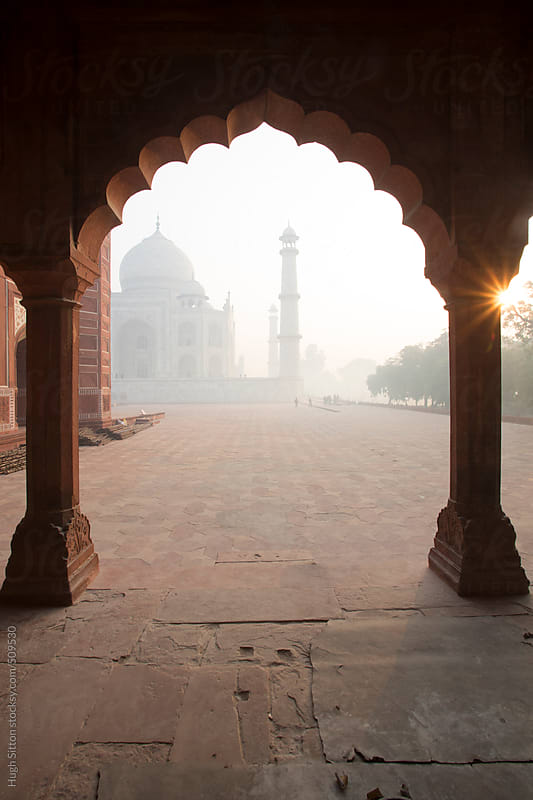 The Taj Mahal. Agra. India. by Hugh Sitton for Stocksy United
