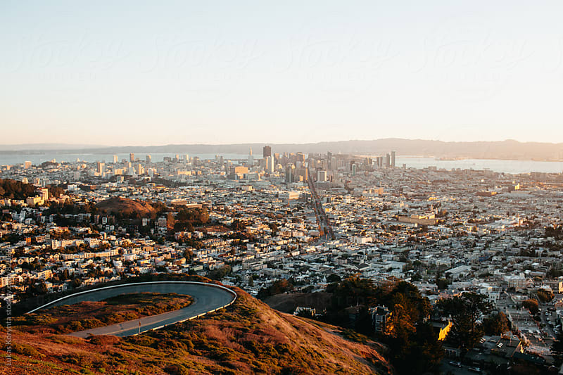 San Francisco view by Lukas Korynta for Stocksy United