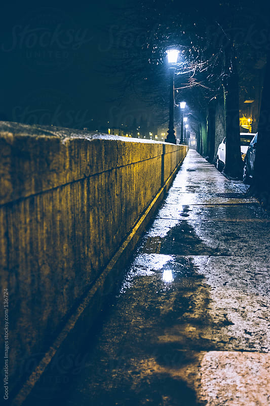 Rainy night by Good Vibrations Images for Stocksy United