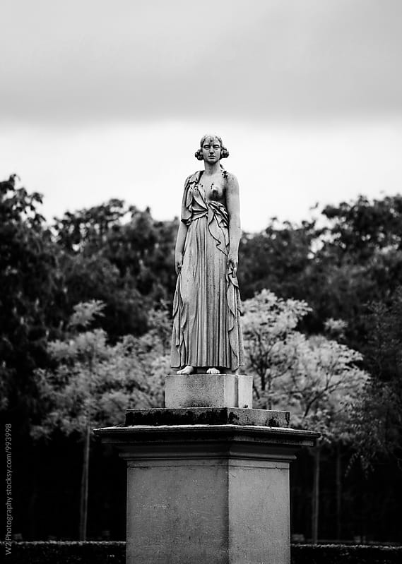 Statue in Jardin du Luxembourg in Paris, France. by W2 Photography for Stocksy United