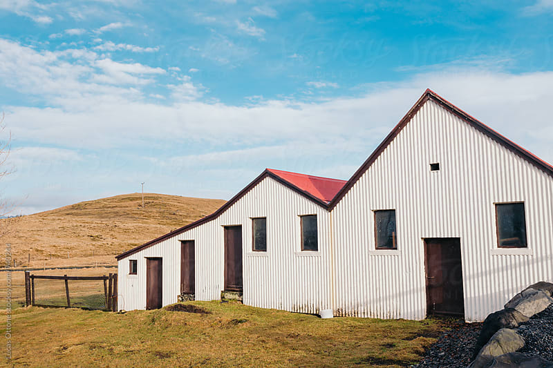 Icelandic rustic house by Lucas Ottone for Stocksy United
