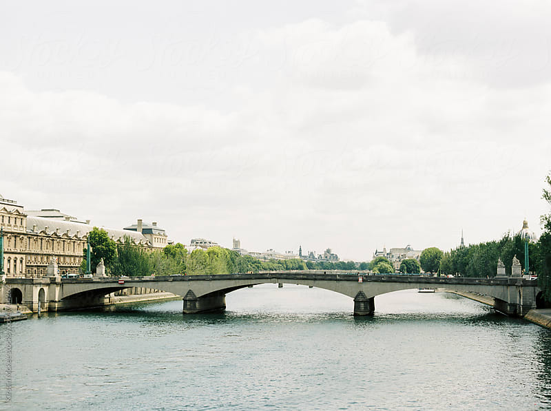 Bridge over the River Seine, Paris by Kirstin Mckee for Stocksy United