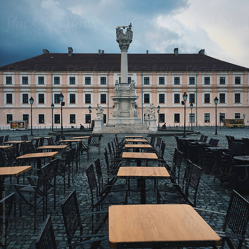 Streets of Osijek by Maja Topcagic for Stocksy United