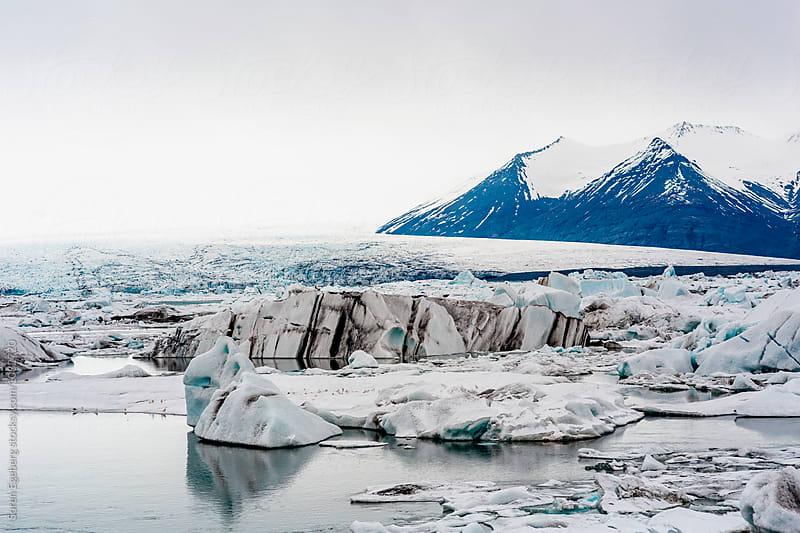 Glacier in Iceland by Søren Egeberg Photography for Stocksy United