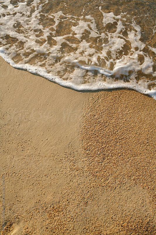 Wave and sand by Bratislav Nadezdic for Stocksy United