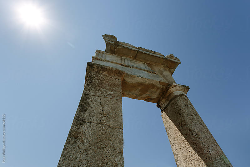 Part of the remains of ancient Kamiros, Rhodes Greece by Paul Phillips for Stocksy United