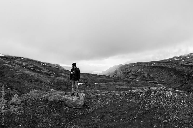 Man In Iceland by Carey Haider for Stocksy United